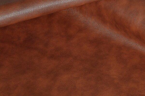 Ткань натуральная кожа Stella Clean Brown