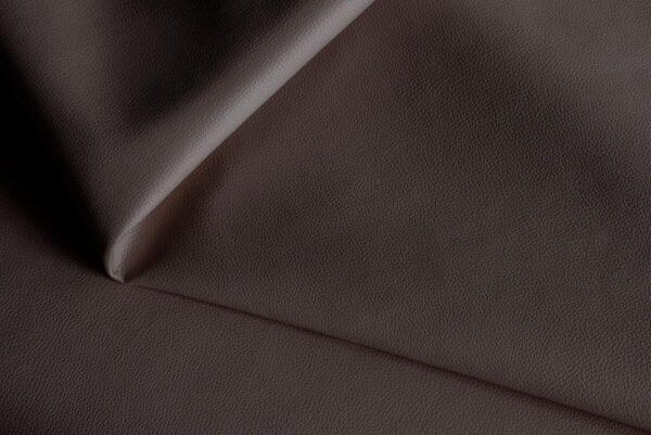 Ткань натуральная кожа Stella Clean Dark Brown