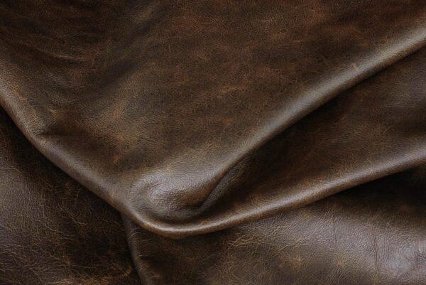 Ткань натуральная кожа Tabacco
