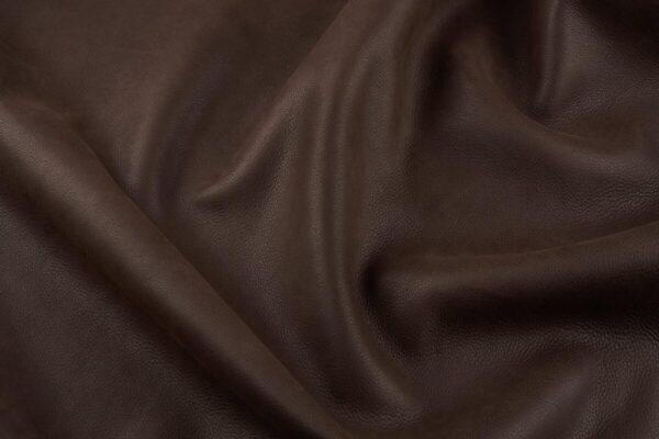 Ткань натуральная кожа Vintage Chocolate