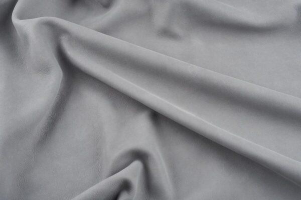 Ткань натуральная кожа Vintage Silver